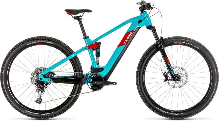 Cube Stereo Hybrid 120 Pro 625 29 petrol n red 2020 - E-Bike Fully Mountainbike