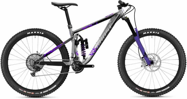 Ghost Riot Enduro AL Full Party silver / purple 2021 - Fully Mountainbike