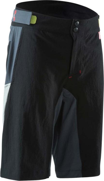 Cube Junior Blackline Shorts (mit herausnehmbarer Innenhose) | schwarzanthrazit