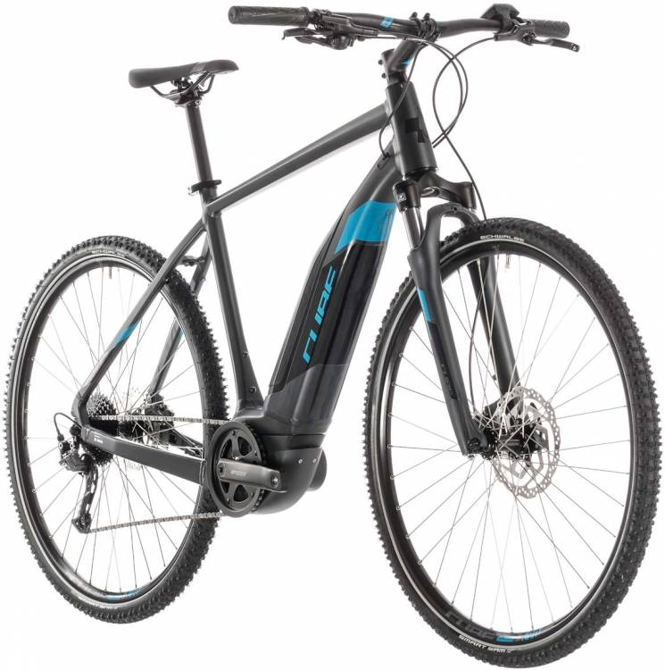 Cube Cross Hybrid ONE 500 iridium n blue - Herren 2019