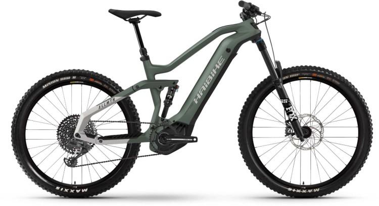 Haibike AllMtn 6 i600Wh bamboo/cool grey matte 2021 - E-Bike Fully Mountainbike