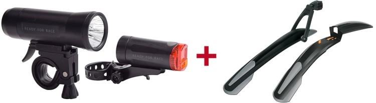 RFR Beleuchtungsset + SKS Steckschutzblechset