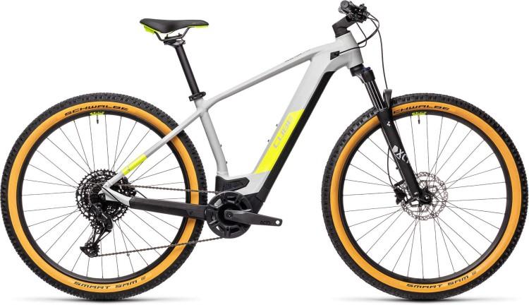 Cube Reaction Hybrid Pro 625 29 grey n yellow 2021 - E-Bike Hardtail Mountainbike
