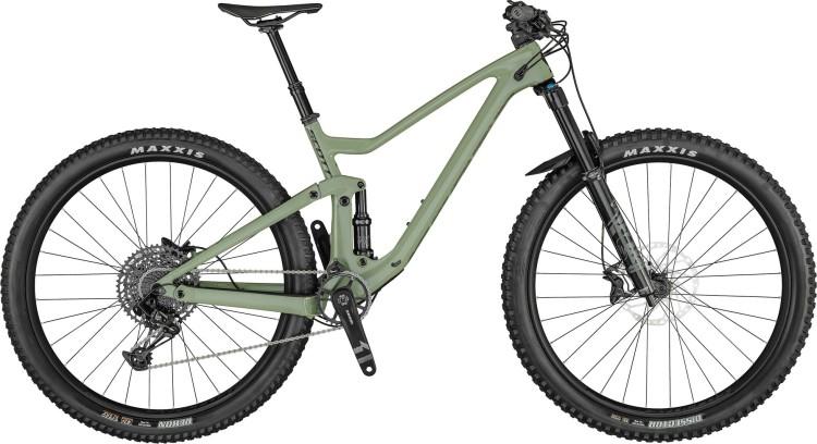 Scott Genius 940 land green / carbon matt black 2021 - Fully Mountainbike