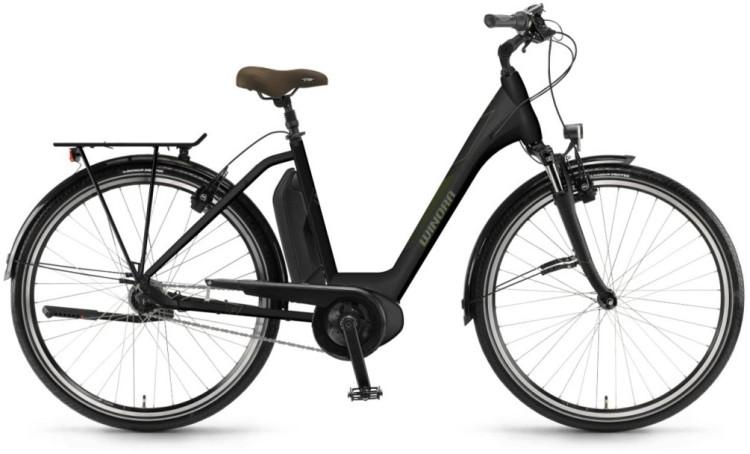 """Winora Sima N7f 400Wh 28"""" schwarz matt 2018 - Tiefeinsteiger E-Bike Trekkingrad"""