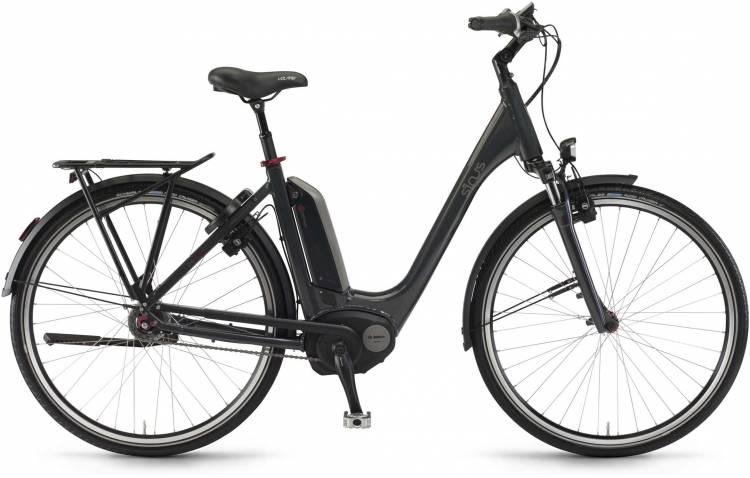 "Sinus Tria N8f 500Wh 26"" mysterypearl 2017 - Tiefeinsteiger E-Bike Trekkingrad"