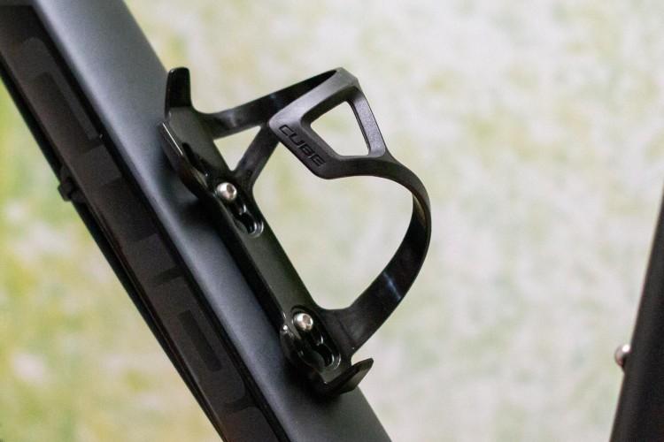 Cube Flaschenhalter HPP Left-Hand Sidecage black n black