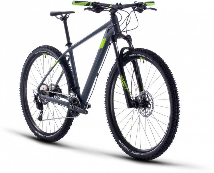Cube Attention grey n green 2020 - Hardtail Mountainbike