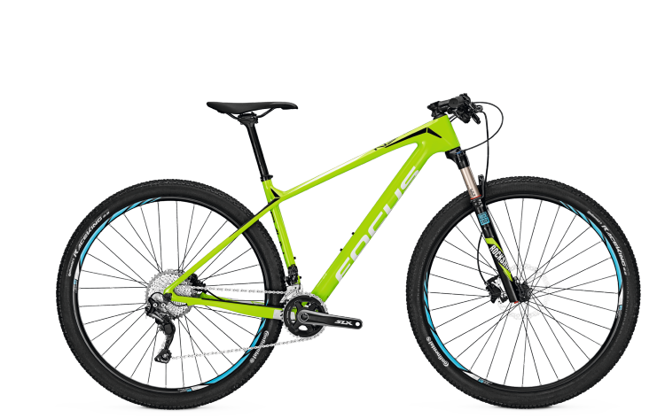 Focus Raven Core 29 green 2017 - Hardtail Mountainbike