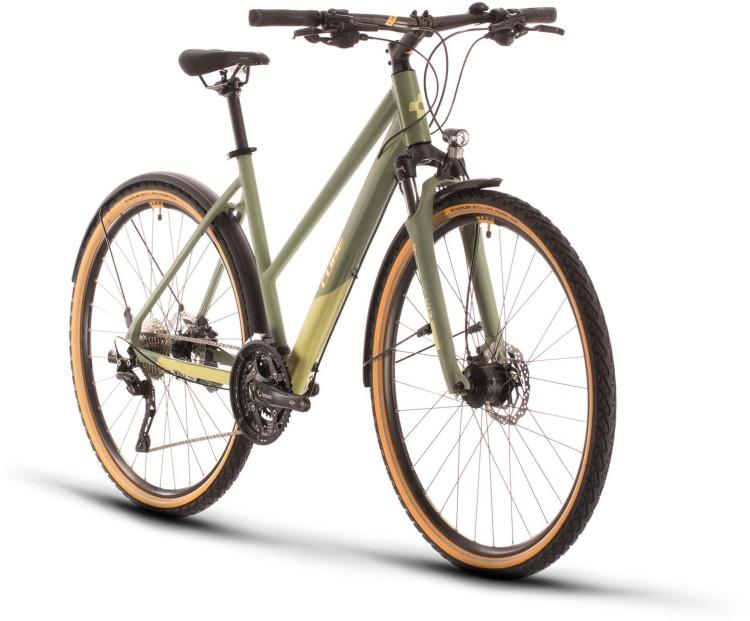 Cube Nature EXC Allroad green n orange 2020 - Crossrad Damen
