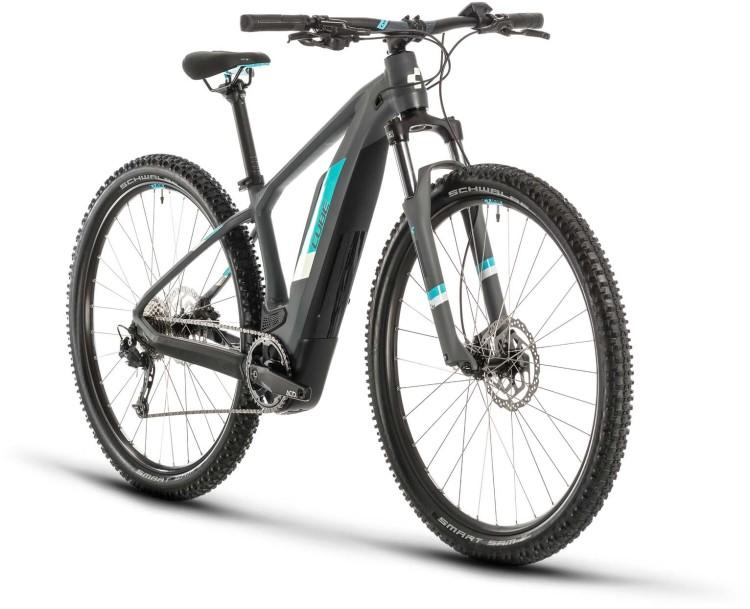 Cube Access Hybrid ONE 500 grey n aqua 2020 - E-Bike Hardtail Mountainbike