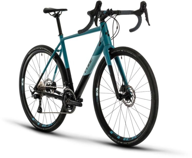 Cube Nuroad Race black n greyblue 2020 - Cyclocross