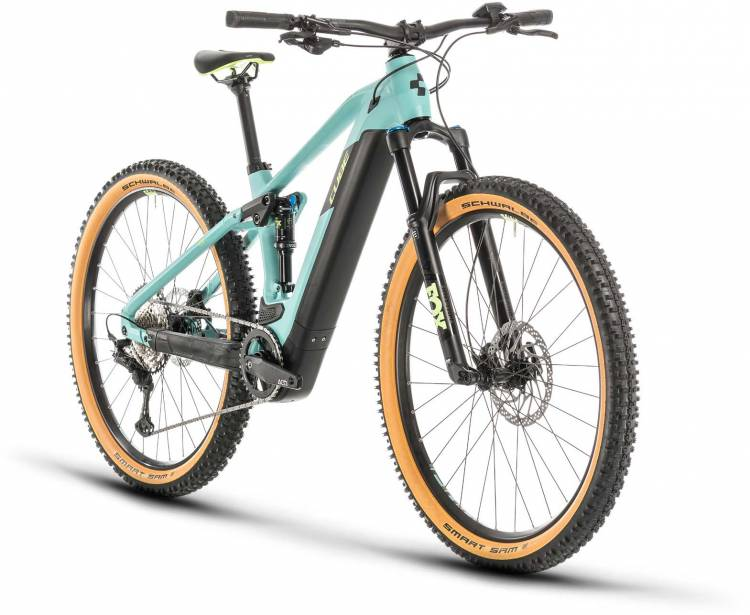 Cube Stereo Hybrid 120 Race 500 29 frozengreen n green 2020 - E-Bike Fully Mountainbike