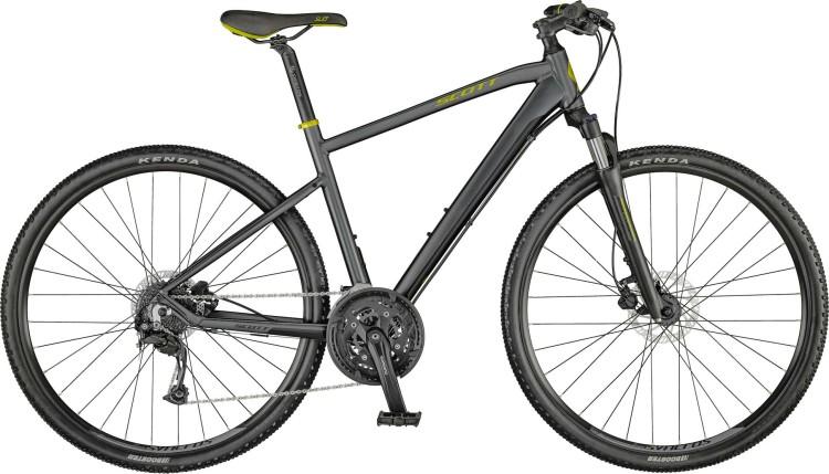 Scott Sub Cross 30 Men dark grey / stellar green / grey 2021 - Crossrad Herren
