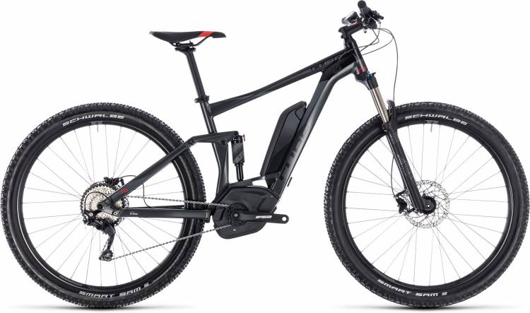 Cube Stereo Hybrid 120 ONE 500 iridium n red 2018 - E-Bike Fully Mountainbike