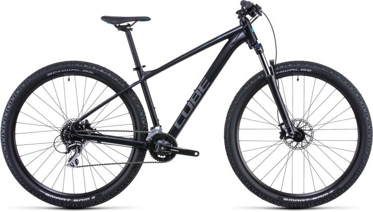 Cube Aim Race black n azure 2022 - Hardtail Mountainbike