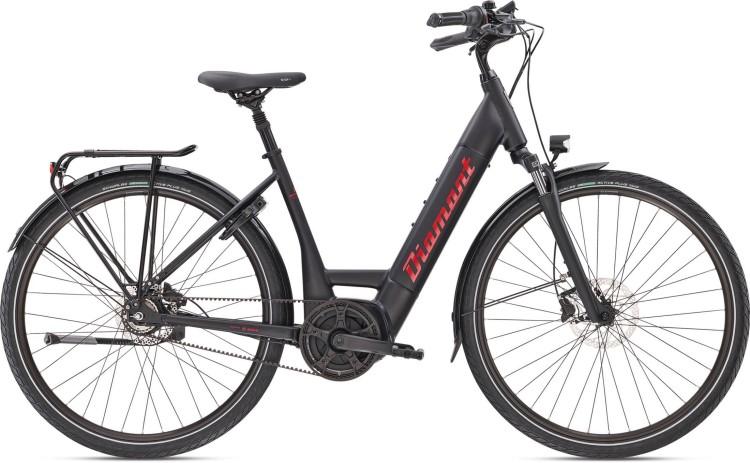 Diamant Beryll Esprit+ TIE Tiefschwarz 2020 - E-Bike Trekkingrad Tiefeinsteiger