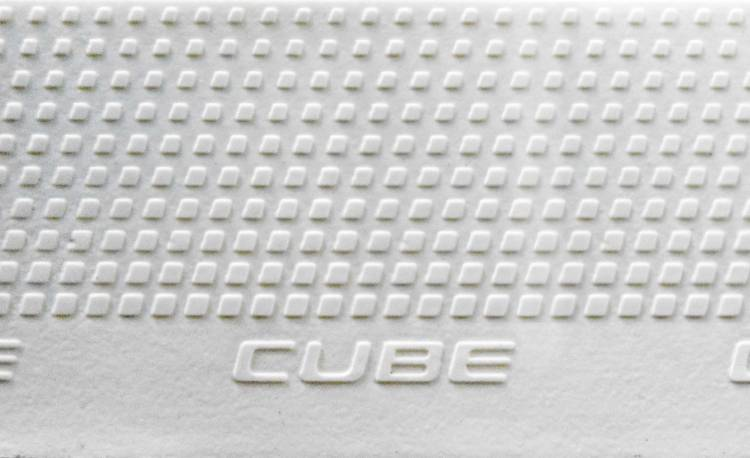 Cube Natural Fit Lenkerband Grip white