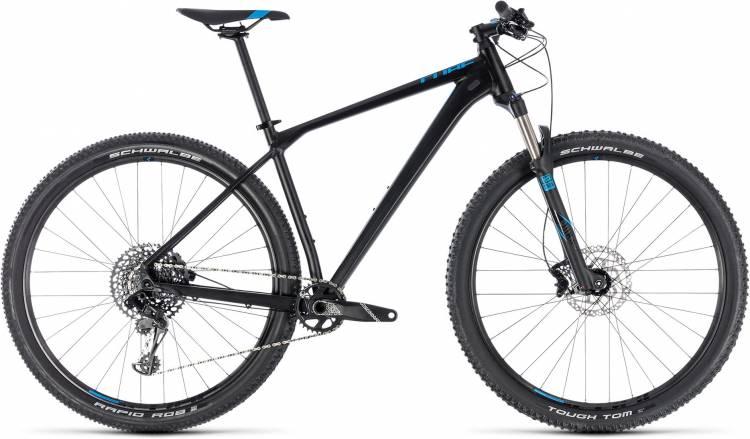 Cube Reaction Race black n blue 2018 - Hardtail Mountainbike