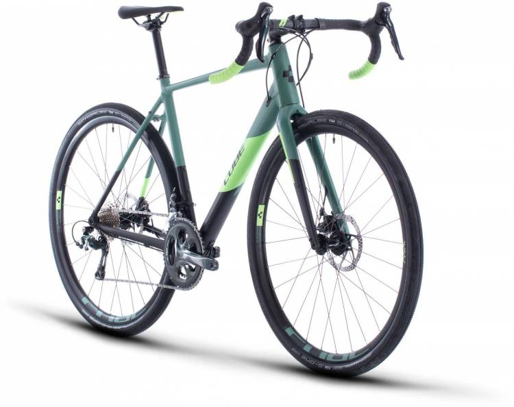 Cube Nuroad Pro black n sharpgreen 2020 - Cyclocross