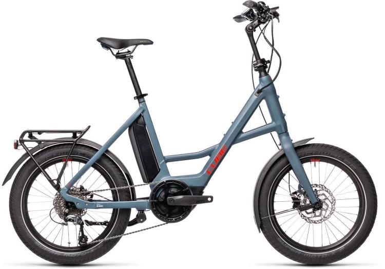 Cube Compact Hybrid Sport blue n red 2021 - E-Bike Kompaktrad