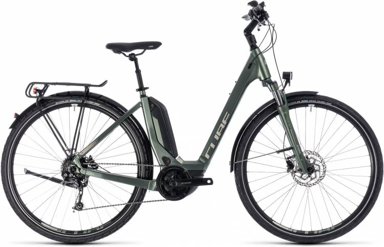 Cube Touring Hybrid ONE 500 frostgreen n silver 2018