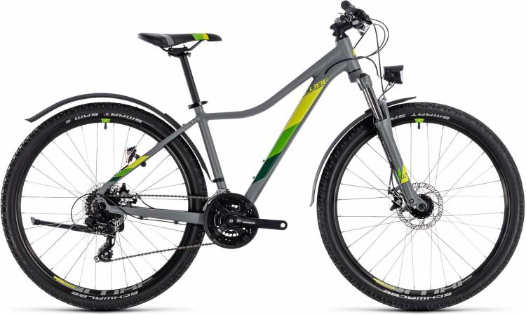 Cube Access WS Allroad grey n green 2018 - Damen Hardtail Mountainbike