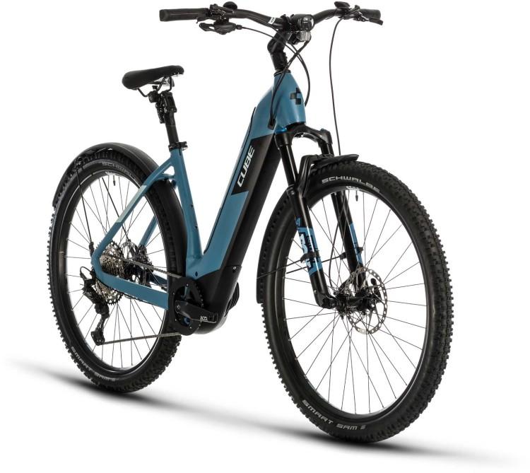Cube Nuride Hybrid SL 625 Allroad blue n blue 2020 - E-Bike Hardtail Mountainbike
