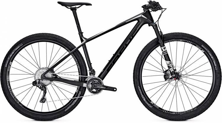 Focus Raven Max Pro 29 black/white 2017 - Hardtail Mountainbike