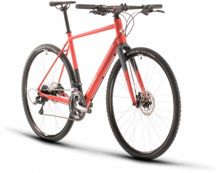 Cube SL Road red n grey 2020 - Fitnessrad Herren