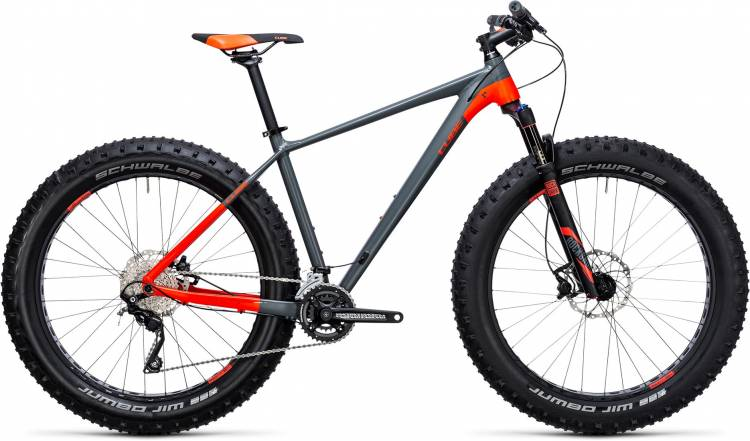 Cube Nutrail grey n flashred 2018 - Hardtail Mountainbike