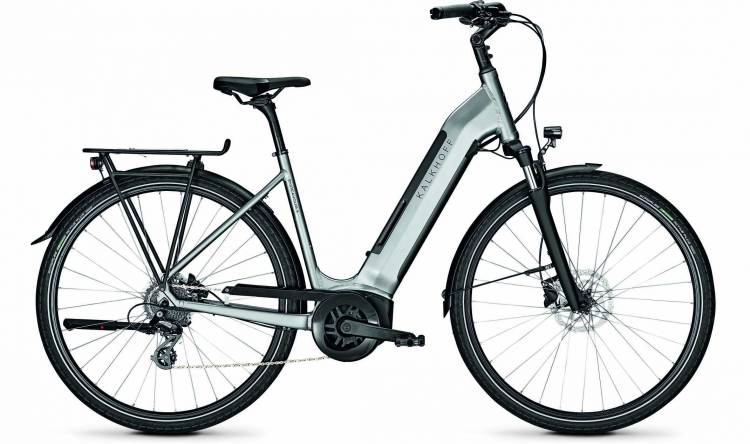 Kalkhoff Endeavour 3.B Move smokesilver glossy (Wave) 2020 - E-Bike Trekkingrad Tiefeinsteiger