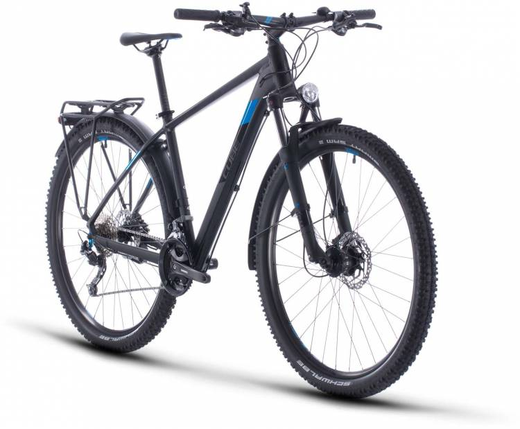 Cube Aim SL Allroad black n blue 2020 - Hardtail Mountainbike