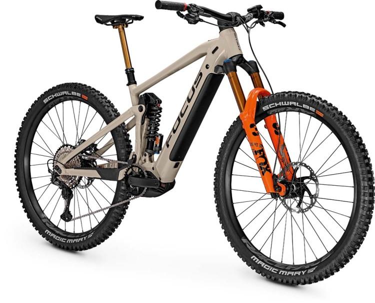 Focus Sam2 6.9 Milk Brown 2021 - E-Bike Fully Mountainbike
