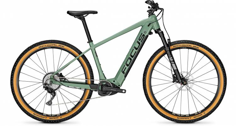 Focus Jarifa2 6.8 Nine Mineral Green 2020 - E-Bike Hardtail Mountainbike