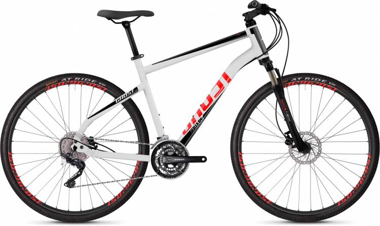 Ghost Square Cross 2.8 AL U star white / jet black / fiery red 2020 - Crossrad Herren