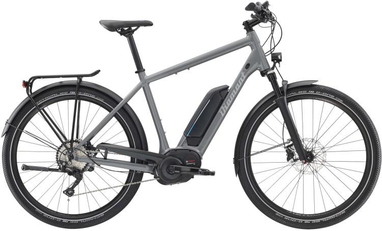 Diamant Elan Legere+ HER Graphitgrau 2020 - E-Bike Trekkingrad Herren