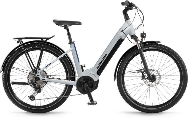 Winora Yucatan 12 i630Wh winterwhite 2021 - E-Bike Trekkingrad Tiefeinsteiger