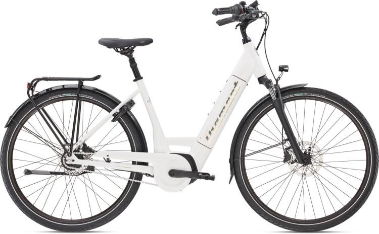 Diamant Beryll Deluxe+ TIE Weiss 2020 - E-Bike Trekkingrad Tiefeinsteiger