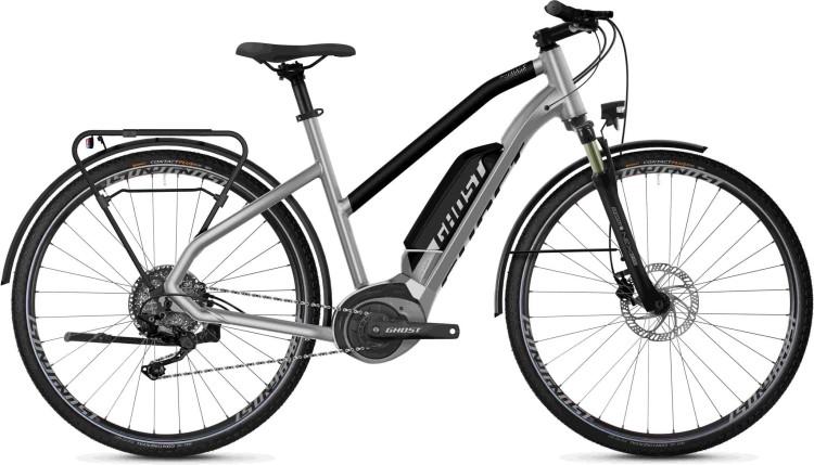 Ghost Hybride Square Trekking B2.8 AL W iridium silver / jet black 2020 - E-Bike Trekkingrad Damen