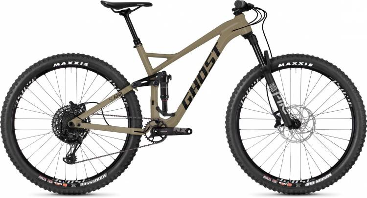 Ghost Slamr 4.9 AL U classic tan / jet black 2020 - Fully Mountainbike