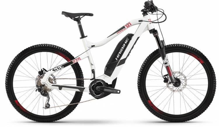 Haibike SDURO HardSeven Life 1.0 400Wh weiß/anthrazit/rot 2019