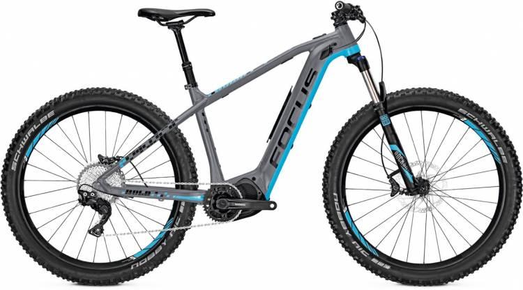 Focus Bold2 Plus 27 grey/blue 2017 - E-Bike Hardtail Mountainbike