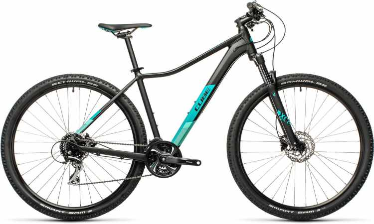 Cube Access WS Exc black n blue 2021 - Hardtail Mountainbike Damen