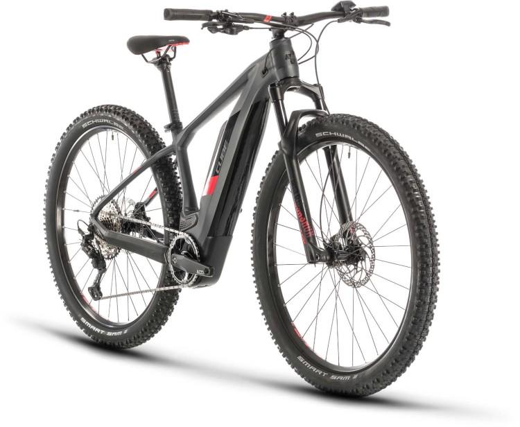 Cube Access Hybrid Race 500 iridium n red 2020 - E-Bike Hardtail Mountainbike
