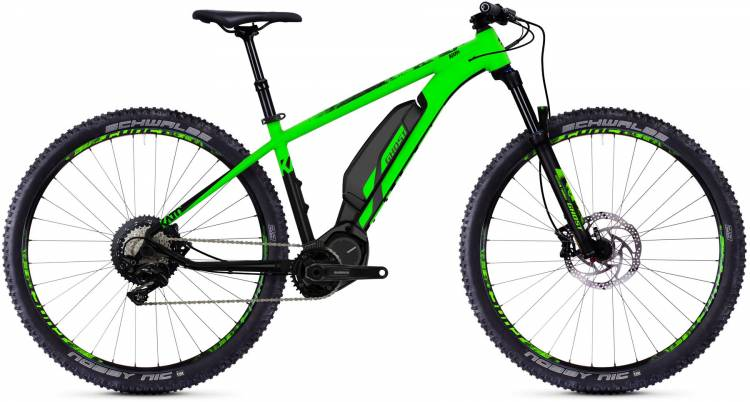 Ghost Hybride Kato S4.9 AL 2018 - E-Bike Hardtail Mountainbike