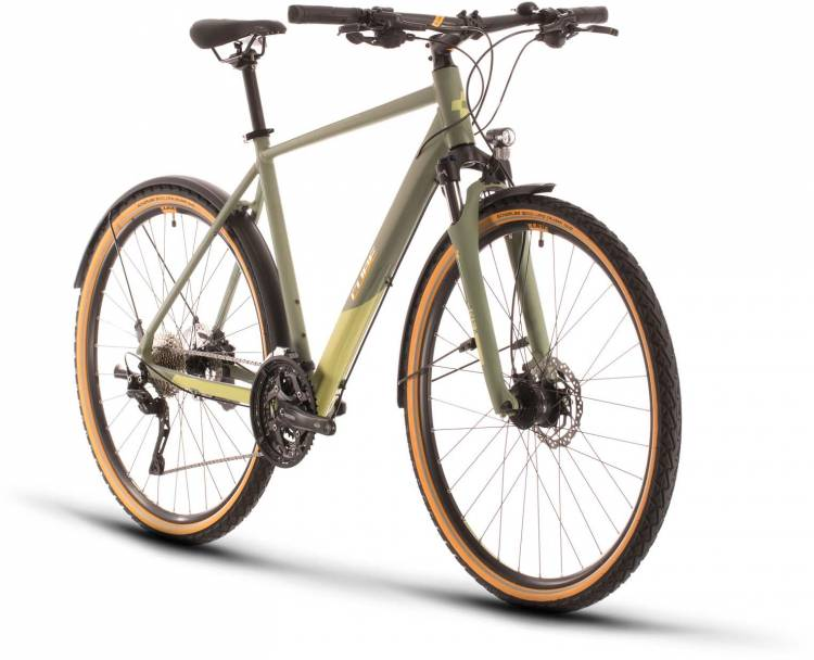 Cube Nature EXC Allroad green n orange 2020 - Crossrad Herren
