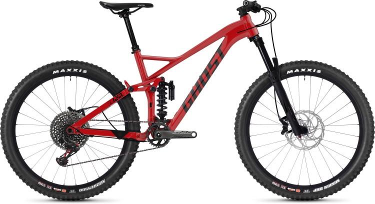 Ghost Slamr 8.7 AL U riot red / jet black 2020 - Fully Mountainbike