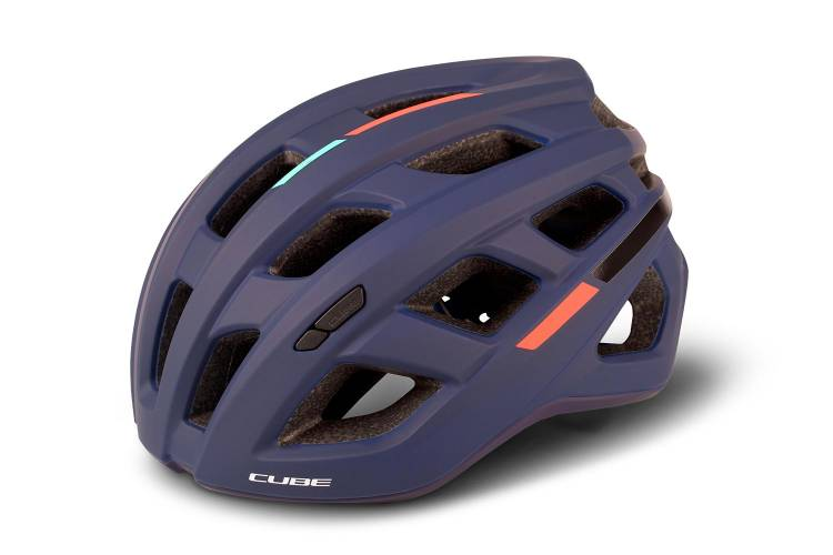 Cube Helm ROAD RACE Teamline - blue´n´mint