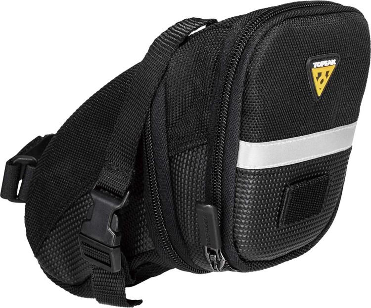 Topeak Satteltasche Aero Wedge Pack Strap medium schwarz